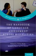 Cover for The Handbook of Language Assessment Across Modalities