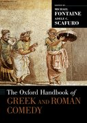 Cover for The Oxford Handbook of Greek and Roman Comedy