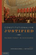 Cover for Constitutionalism Justified