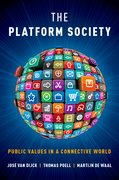 Cover for The Platform Society - 9780190889777