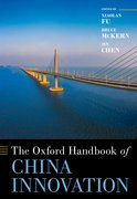 Cover for The Oxford Handbook of China Innovation