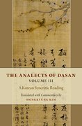Cover for The Analects of Dasan, Volume III