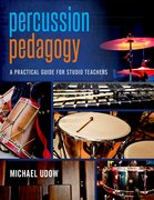 Cover for Percussion Pedagogy