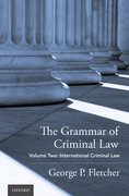 Cover for The Grammar of Criminal Law