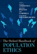 Cover for The Oxford Handbook of Population Ethics