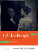 Cover for Of the People - 9780190909963