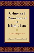 Cover for Crime and Punishment in Islamic Law