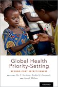 Cover for Global Health Priority-Setting