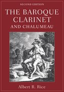 Cover for The Baroque Clarinet and Chalumeau