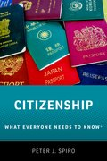 Cover for Citizenship - 9780190917296