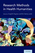 Cover for Research Methods in Health Humanities