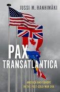Cover for Pax Transatlantica - 9780190922160