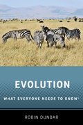 Cover for Evolution - 9780190922887
