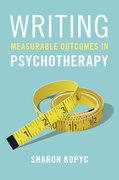 Cover for Writing Measurable Outcomes in Psychotherapy