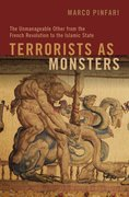 Cover for Terrorists as Monsters