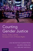 Cover for Courting Gender Justice