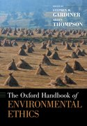 Cover for The Oxford Handbook of Environmental Ethics