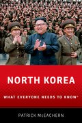 Cover for North Korea - 9780190937980