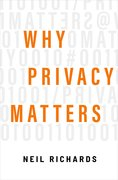 Cover for Why Privacy Matters