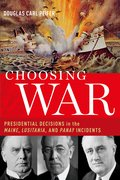 Cover for Choosing War