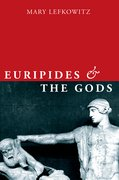 Cover for Euripides and the Gods - 9780190939618