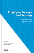 Cover for Employee Surveys and Sensing - 9780190939717