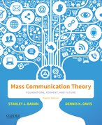 Cover for Mass Communication Theory