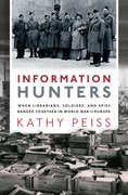 Cover for Information Hunters - 9780190944612
