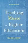 Cover for Teaching Music in Higher Education