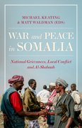 Cover for War and Peace in Somalia