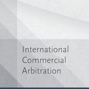 Cover for International Commercial Arbitration