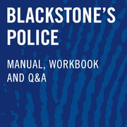 Blackstone's Police Investigators' Manual, Workbook, and Q&A
