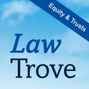 Cover for Law Trove: Equity & Trusts 2016