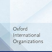 Cover for Oxford International Organizations - 9780191836602