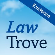 Cover for Law Trove: Evidence 2019
