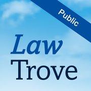 Cover for Law Trove: Public Law 2019