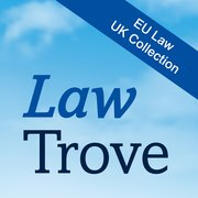 Cover for Law Trove: EU Law (UK Collection) 2020