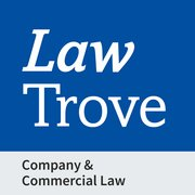 Cover for Law Trove: Company & Commercial Law 2021