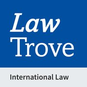 Cover for Law Trove: International Law 2021