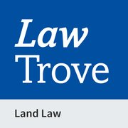 Cover for Law Trove: Land Law 2021
