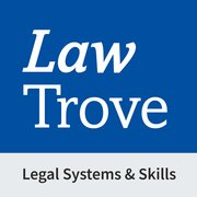Cover for Law Trove: Legal Systems & Skills 2021