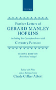 Cover for further Letters of Gerard Manley Hopkins