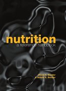 Cover for Nutrition: A Reference Handbook