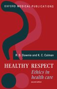 Cover for Healthy Respect