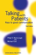 Cover for Talking with Patients