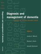 Cover for Diagnosis and Management of Dementia