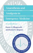 Cover for Anaesthesia and Analgesia in Emergency Medicine