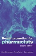 Cover for Health Promotion for Pharmacists
