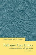 Cover for Palliative Care Ethics