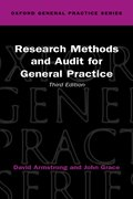 Cover for Research Methods and Audit for General Practice